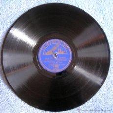 Discos de pizarra: DISCO 78 RPM PIZARRA - DOS CIEGOS AMORES. SEGUNDA QUINCENA DE JULIO. FOXTROT, ORQUESTA DE ARTIE SHAW. Lote 43728276