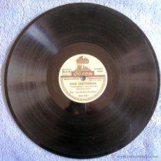 Discos de pizarra: DISCO 78 RPM PIZARRA - FIESTA, DE ORQ. DAJOS BELA - DOS GUITARRAS DE ORQ. LOS SOLISTAS REUNIDOS.. Lote 43876286