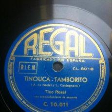 Discos de pizarra: DISCO PIZARRA GRANADA DE MIS AMORES - TINOUCA-TAMBORCITO - A. DE BADET Y J. GUERRERO -. Lote 43887144