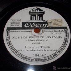 Discos de pizarra: NIÑA ISABEL DISCO ODEON 184562. Lote 43913056