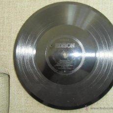 Discos de pizarra: RARISIMO DISCO DE PIZARRA THOMAS EDYSON. Lote 43930628