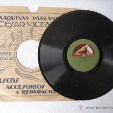 Discos de pizarra: DISCO DE PIZARRA LA VOZ DE SU AMO. ANY ICE TODAY, LADY Y IN A LITTLE GARDEN.. Lote 43965258