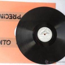 Discos de pizarra: DISCO DE PIZARRA LA VOZ DE SU AMO. FRAGMENTOS DE LA WALKIRIA.. Lote 43965367