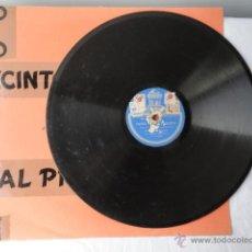 Discos de pizarra: DISCO DE PIZARRA ODEON. DOÑA FRANCISQUITA.. Lote 43965497