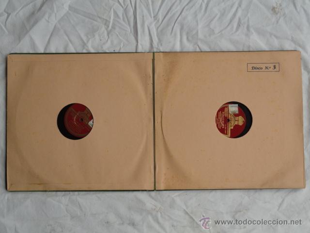 Discos de pizarra: ALBUM DISCOS DE PIZARRA ODEON. BOHEMIOS. - Foto 9 - 44131225