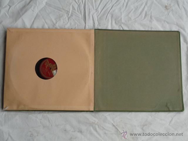 Discos de pizarra: ALBUM DISCOS DE PIZARRA ODEON. BOHEMIOS. - Foto 10 - 44131225