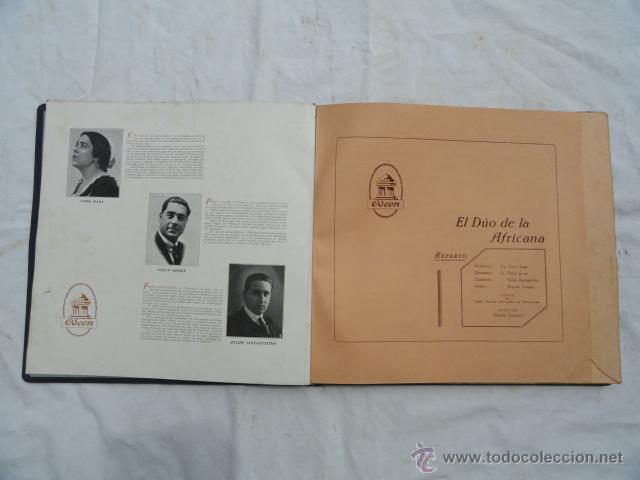 Discos de pizarra: ALBUM DISCOS DE PIZARRA ODEON. EL DÚO DE LA AFRICANA. - Foto 4 - 44131421