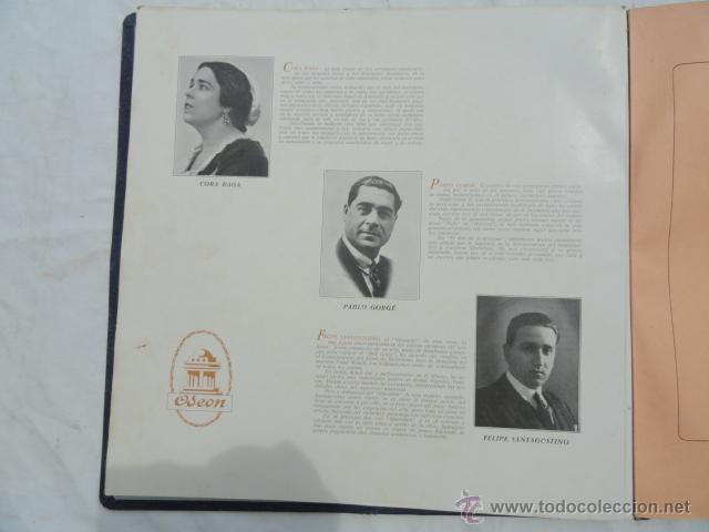 Discos de pizarra: ALBUM DISCOS DE PIZARRA ODEON. EL DÚO DE LA AFRICANA. - Foto 5 - 44131421