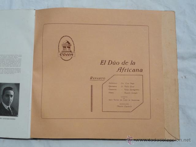 Discos de pizarra: ALBUM DISCOS DE PIZARRA ODEON. EL DÚO DE LA AFRICANA. - Foto 6 - 44131421