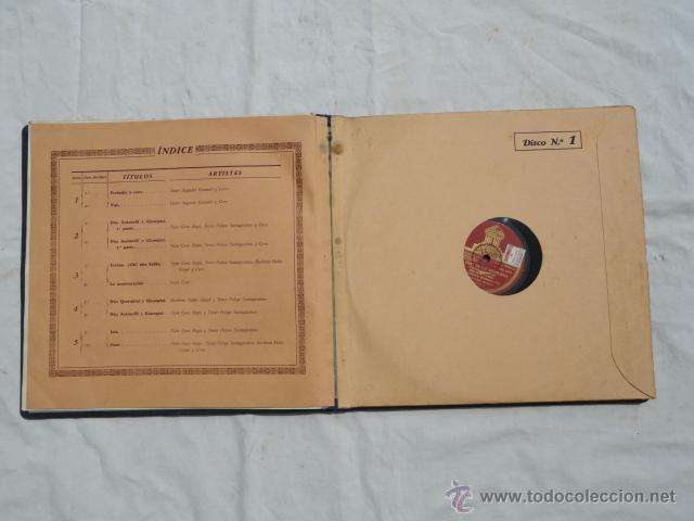 Discos de pizarra: ALBUM DISCOS DE PIZARRA ODEON. EL DÚO DE LA AFRICANA. - Foto 7 - 44131421