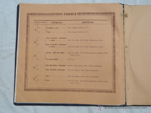 Discos de pizarra: ALBUM DISCOS DE PIZARRA ODEON. EL DÚO DE LA AFRICANA. - Foto 8 - 44131421