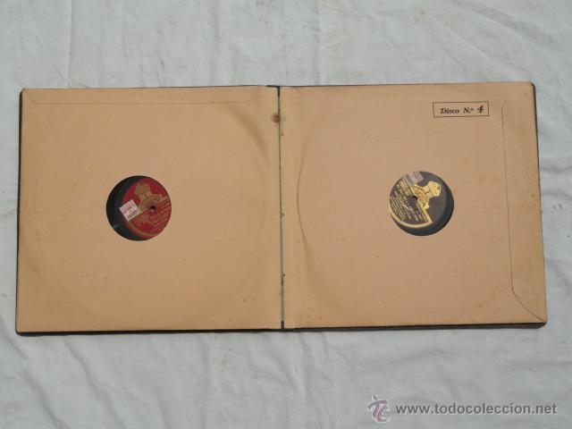 Discos de pizarra: ALBUM DISCOS DE PIZARRA ODEON. EL DÚO DE LA AFRICANA. - Foto 11 - 44131421