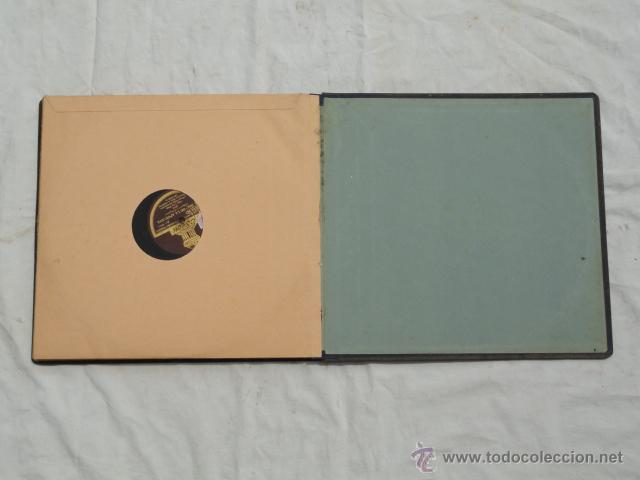 Discos de pizarra: ALBUM DISCOS DE PIZARRA ODEON. EL DÚO DE LA AFRICANA. - Foto 12 - 44131421