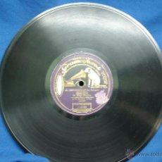 Discos de pizarra: SAGI-BARBA Y ORQUESTA DIRIGIDA POR CALLEJA- EL GUITARRICO/ LA GRAN VIA - DISCO GRAMOPHONE. Lote 44194182