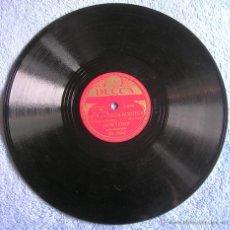 Discos de pizarra: DISCO 78 RPM PIZARRA - JANE TURZY Y SU ORQUESTA - BUENOS DIAS SEÑOR ECO. NIÑA DE OJOS BONITOS.. Lote 44275548