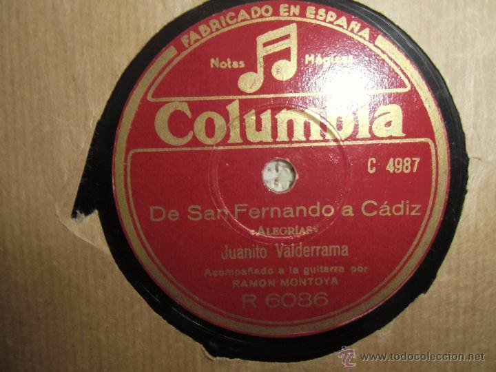 FLAMENCO, JUANITO VALDERRAMA, (Música - Discos - Pizarra - Bandas Sonoras y Actores )