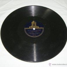 Discos de pizarra: DISCO DE PIZARRA. ROBERTO INGLEZ Y SU ORQUESTA. EN UN CAFÉ FRANCÉS - MONASTERIO SANTA CLARA.. Lote 44334099