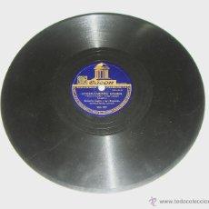 Discos de pizarra: DISCO DE PIZARRA. ODEÓN. ROBERTO INGLEZ. ETERNAMENTE SAMBA - LA CANCIÓN DE DALILA.. Lote 44334918