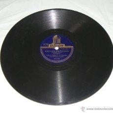 Discos de pizarra: DISCO DE PIZARRA. ODEÓN. ROBERTO INGLEZ. MI LOCO CORAZÓN - SERENATA PORTUGUESA. . Lote 44335104