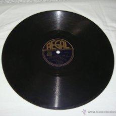 Discos de pizarra: DISCO DE PIZARRA. REGAL. ELENA DE TORRES. MIS NOCHES SIN TI - AMOR.. Lote 44335138