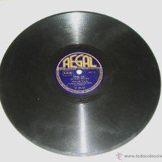 Discos de pizarra: DISCO DE PIZARRA. REGAL. ELENA DE TORRES. QUIERO - SIN MI.. Lote 44335203