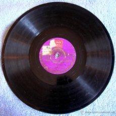 Discos de pizarra: DISCO 78 RPM PIZARRA - CARLITOS, CARLOS GARDEL - AQUEL TAPADO DE ARMIÑO (TANGO). NELLY ( VALS).. Lote 44369584