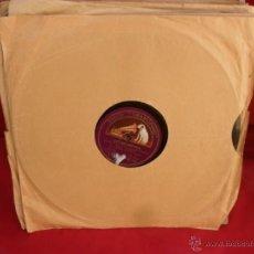 Discos de pizarra: DISCO GRAMOFONO,PIZARRA,25 CM,LAS GOLONDRINAS. Lote 44393184