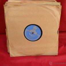 Discos de pizarra: DISCO GRAMOFONO,PIZARRA,25 CM,SEGUIDILLAS Y SAETA. Lote 44393393