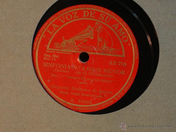 Discos de pizarra: Tschaikowsky - Sexta Simfonia - Patetica - Opus 74 - La Voz de su Amo -Album con 5 discos de PIzarra - Foto 2 - 44845882