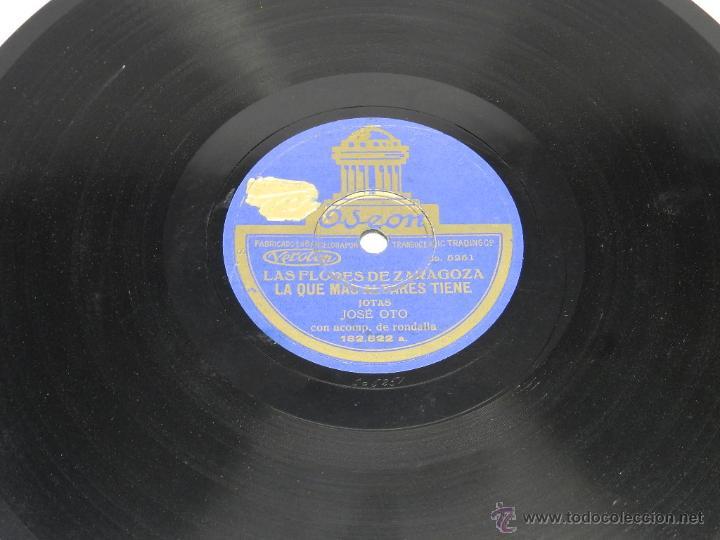 DISCO DE PIZARRA (JOTAS ARAGONESAS), 182522, LA SAL SE TE VA CAYENDO Y LAS QUE MAS FLORES TIENE, POR (Música - Discos - Pizarra - Jazz, Blues, R&B, Soul y Gospel)