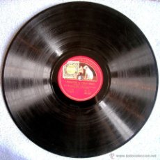 Discos de pizarra: DISCO 78 RPM PIZARRA OPERA - LA GIOCONDA - I PESCATORI DI PERLE. POR B. GIGLI, G. DE LUCA Y ORQUESTA. Lote 44989117