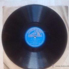 Discos de pizarra: LA ARGENTINITA - SEVILLA - CADIZ´ DISCO DE PIZARRA. Lote 45057572