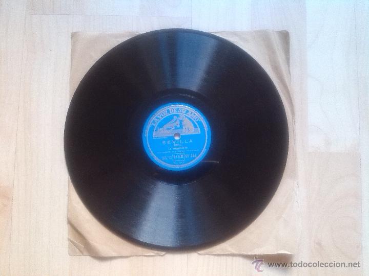 Discos de pizarra: la argentinita - sevilla - cadiz´ disco de pizarra - Foto 2 - 45057572