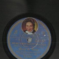 Discos de pizarra: GRACIA DE TRIANA NO ME DIGAS QUE TE MARCHAS/NIÑA ISABEL DISCO DE PIZARRA. Lote 45184457