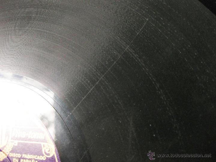 Discos de pizarra: DISCO REGAL DE PIZARRA LAS TENTACIONES - A. PASO PADRE - ASENJO - TORRES DEL ALAMO Y J. GUERRERO - Foto 4 - 45396203