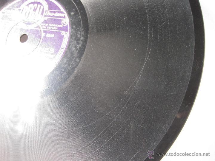 Discos de pizarra: DISCO REGAL DE PIZARRA LAS TENTACIONES - A. PASO PADRE - ASENJO - TORRES DEL ALAMO Y J. GUERRERO - Foto 5 - 45396203