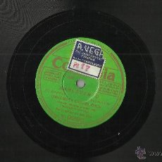 Discos de pizarra: ORQUESTA CASABLANCA DISCO DE PIZARRA BARLOVENTO/PUERQUITO GORDO. Lote 45404144