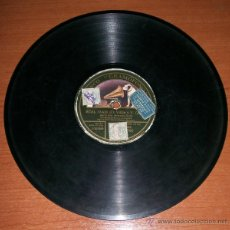 Discos de pizarra: MERCEDES SEROS ORQUESTA MAESTRO GELABERT. REAL MAJA / REINA DE LA NOCHE. DISCO DE PIZARRA. Lote 45781171