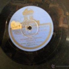 Discos de pizarra: 78 RPM PIZARRA DE GUERRITA FANDANGO-MILONGA. Lote 45951133