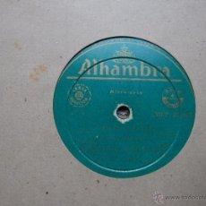 Discos de pizarra: SARDANAS COBLA COSTA BRAVA DISCO PIZARRA. Lote 45980697