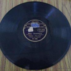 Discos de pizarra: MISS GUINDALERA -- J. GUERRERO -- RANCHERA SCHOTTISH. Lote 46111577