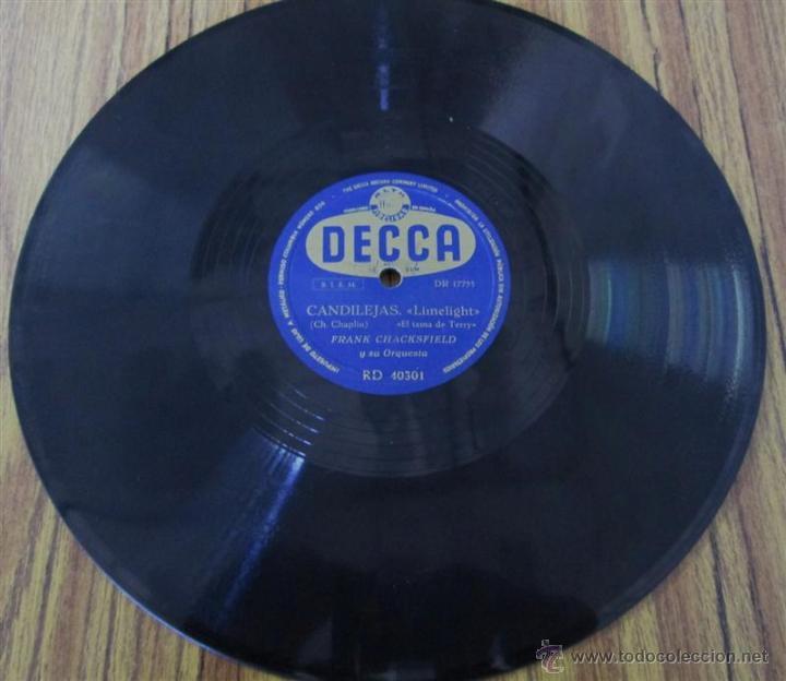 Discos de pizarra: FRANK CHACKSFIELD -- Candilejas - Foto 3 - 46111671