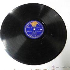 Discos de pizarra: DISCO DE PIZARRA ORQUESTA ANDRES MOLTO / NUNCA TE OLVIDARE / LAGRIMAS NEGRAS (PARLOPHON B.26.707), B. Lote 46750222
