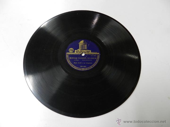Discos de pizarra: DISCO DE PIZARRA SIEMPRE EN MI CORAZON DE LA PELICULA DEL MISMO TITULO RAUL ABRIL Y SU ORQUESTA, ED. - Foto 2 - 46750637