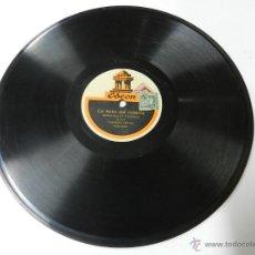 Discos de pizarra: DISCO DE PIZARRA DE CASIMIRO ORTAS - CUENTO - LOS APUROS DE UN VIAJERO / LA HORA DEL REPARTO, ED. O. Lote 46750988