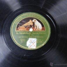 Discos de pizarra: DISCO DE PIZARRA DE CASIMIRO ORTAS Y ROSARIO LEONIS, HAY QUE VER LAS BRONCAS DE JENARO Y SU MUJER / . Lote 46766595
