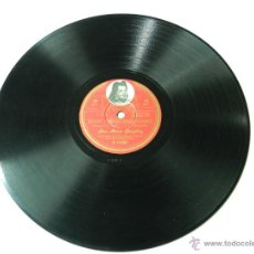 Discos de pizarra: DISCO GRAMOFONO ANA MARIA GONZALEZ, JUAN CHARRASQUEADO / PLEGARIA GUADALUPANA, ED. COLUMBIA R 14681.. Lote 46781361