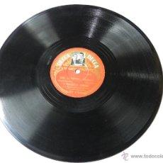 Discos de pizarra: DISCO DE PIZARRA E. DERIDOUX Y F. TERWAGNE ( VIRTUOSOS DEL ACORDEON), NI PORQUE...NI COMO / AVRIL AU. Lote 46781537