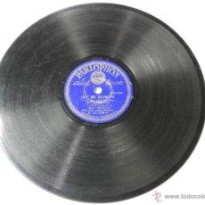Discos de pizarra: DISCO DE PIZARRA GALLEGUITO, CON CORO Y BANDA PARLOPHON - SECUNDINO, SECUNDINA / ¡AY MI RAMON!, CHOT. Lote 46795522