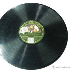 Discos de pizarra: DISCO DE PIZARRA SRA. FINA KARENNE CON ACOMPAÑAMINTO DE ORQUESTA, BAJO LA DIRECCION DEL MAESTRO GELA. Lote 46796578